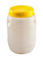 Бочка п/э 55 литров пищевая