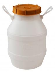 Бидон п/э 42 литров пищевой